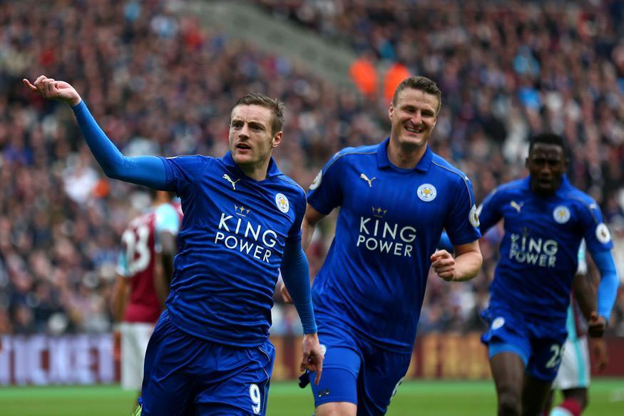 Jamie Vardy Scores as Leicester City Beat West Ham 3-2
