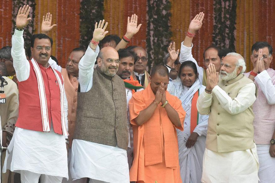 UP CM Yogi Adityanath Promises 'Sabka Saath, Sabka Vikas' in 1st Press Meet