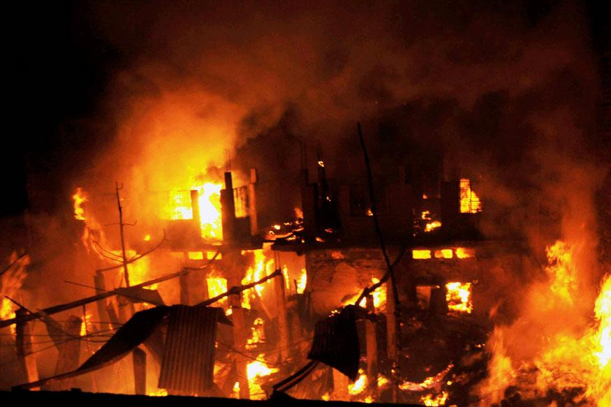 SSB Camp Office, 45 Shops Gutted in Massive Fire in Jammu's Doda District