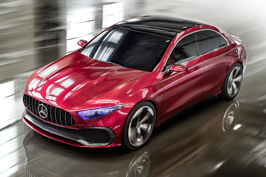 Mercedes-Benz A-Class Concept Set to be Unveiled at 2017 Shanghai Auto Show