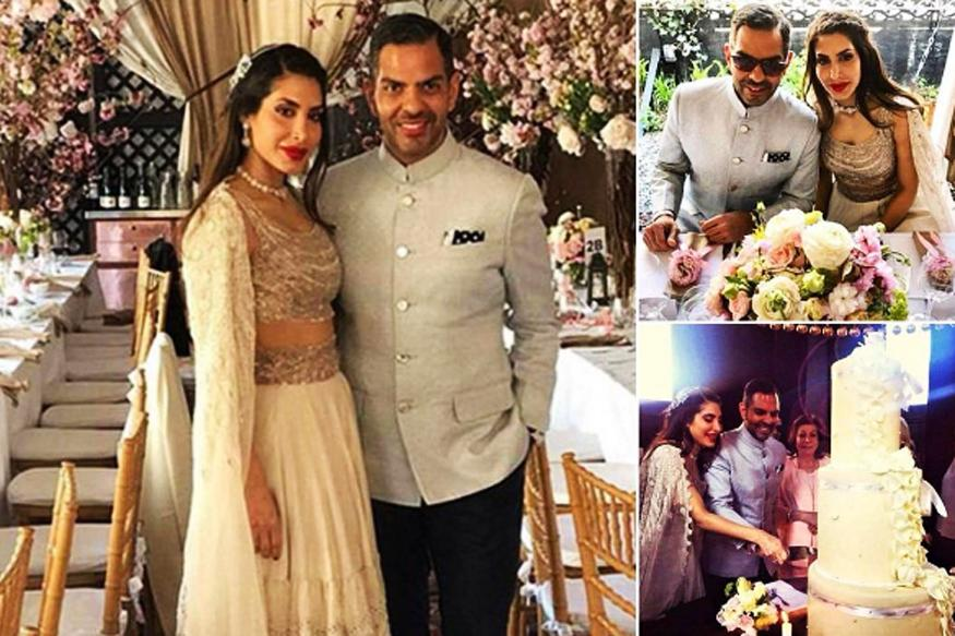 Inside Photos of Karisma Kapoor's Ex Sanjay Kapur, Priya Sachdev's Wedding Reception in New York Are Out