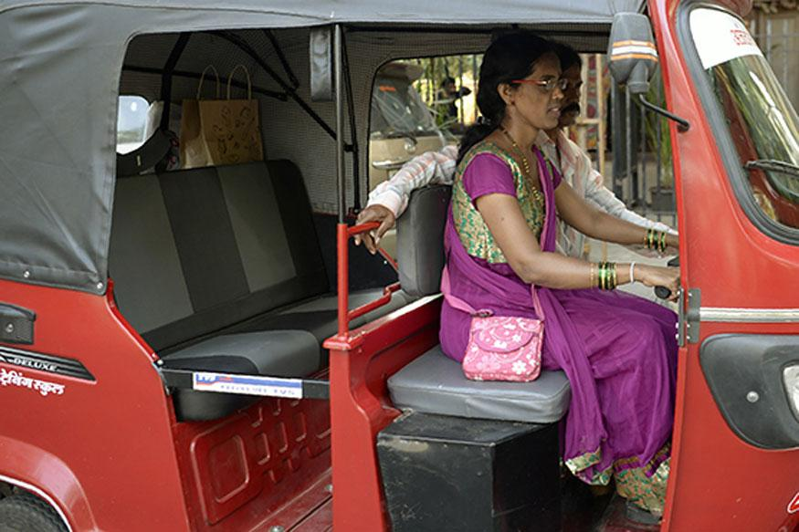 Chaya Mohite, One of Mumbai's First Women Rickshaw Drivers, is Defying Social Norms