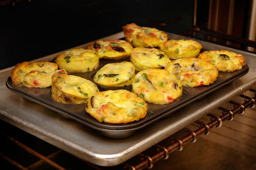 Baked Muffin Frittatas Are Quick And Easy Customizable Treat