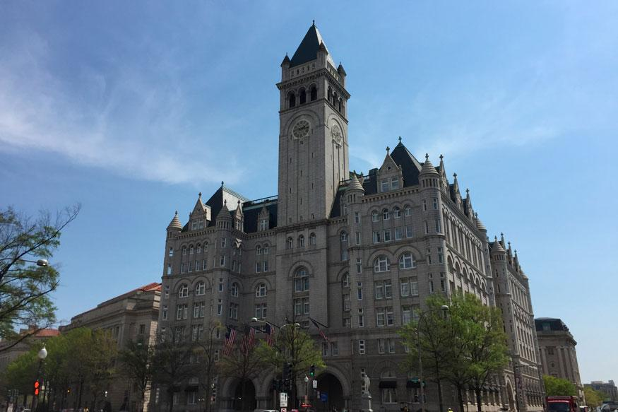 Clock Tower Over The Trump Hotel Reopens For Tours