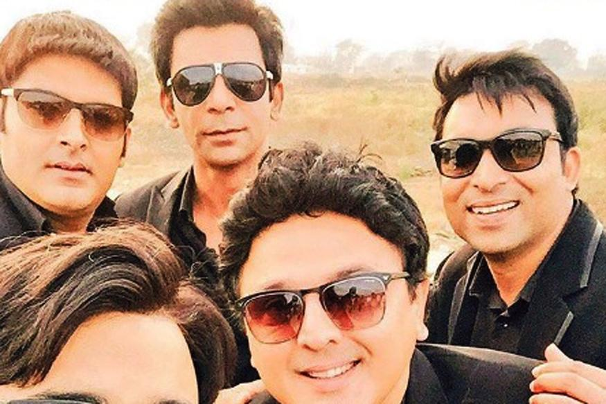 Kapil Sharma, Sunil Grover, Ali Asgar Shoot For The Same Show