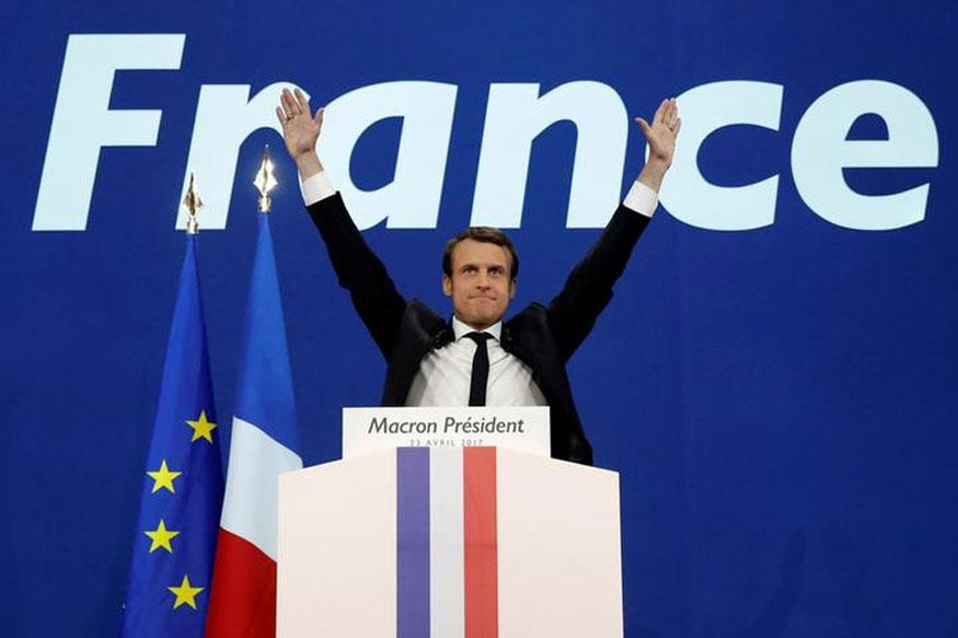 Tough road ahead for Macron in presidential election