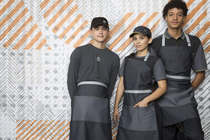 McDonald's (NYSE:MCD) Staff Looking Like Star Wars Villains in New Uniforms