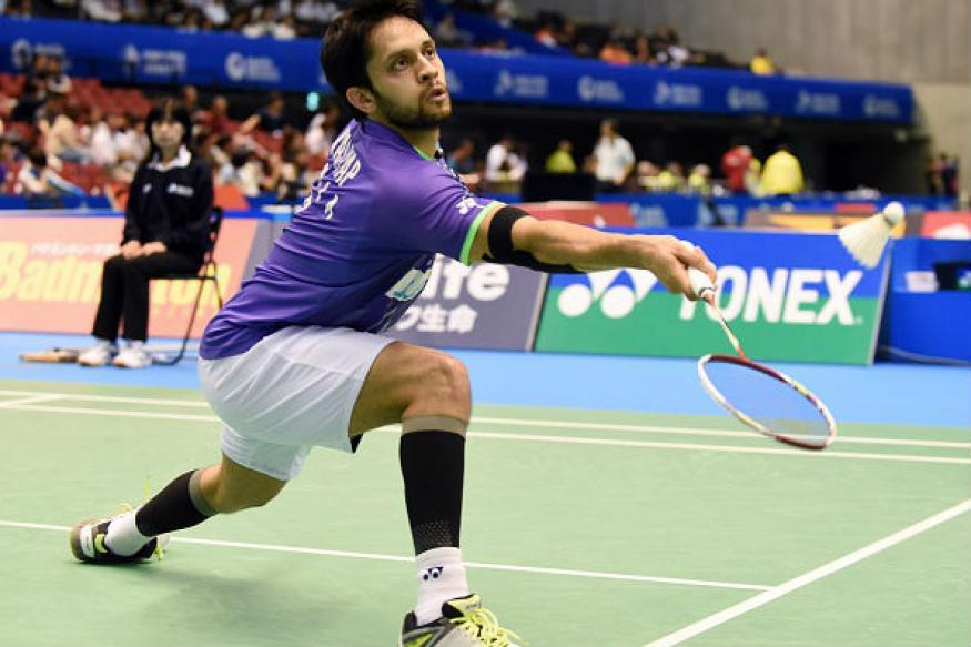 Parupalli Kashyap, Harsheel Dani lose in pre-quarters of China Masters
