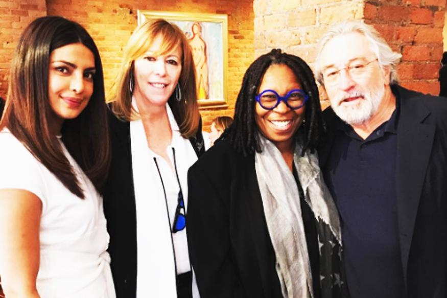 Priyanka Chopra spends afternoon with Robert De Niro, Whoopi Goldberg