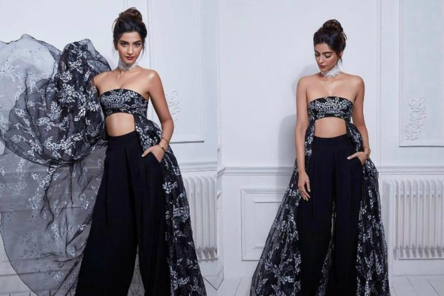 Sonam Kapoor Looks Stunning In Shehla Khan's Ethereal Creation