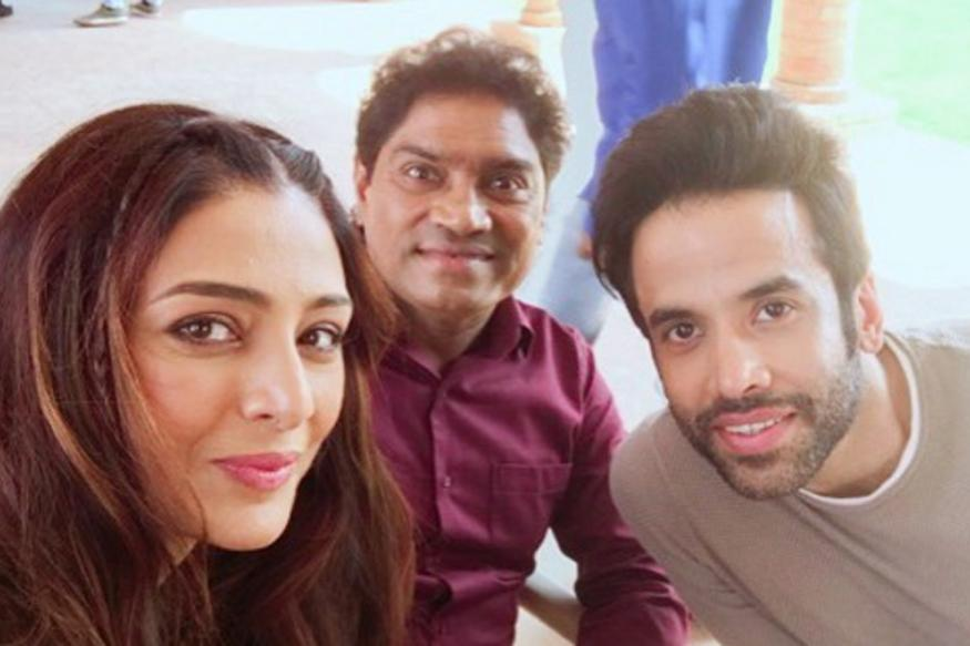 CUTE: Tusshar takes baby son on sets of 'Golmaal Again'