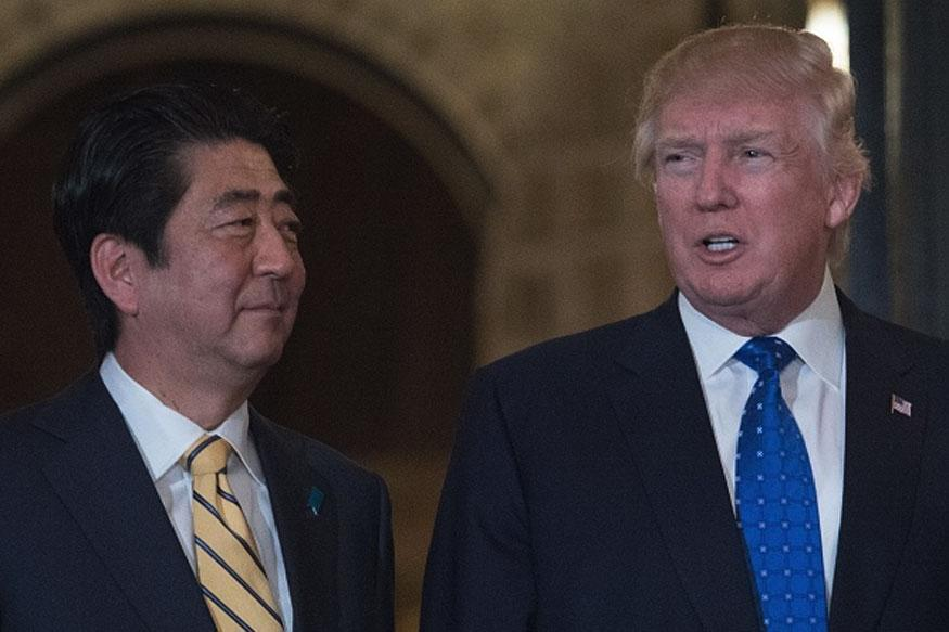 Trump to Abe: US to boost defences against North Korea
