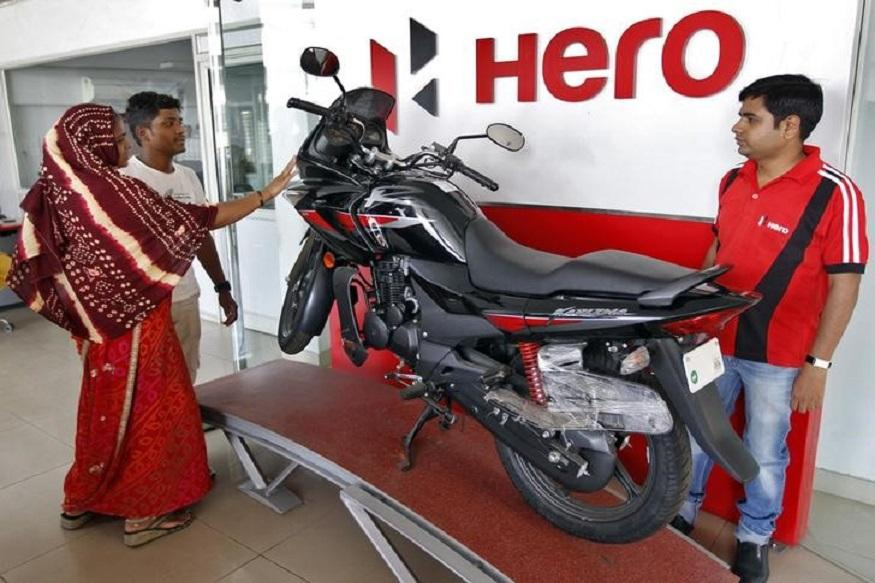 Hero MotoCorp fourth-quarter profit falls, misses estimates