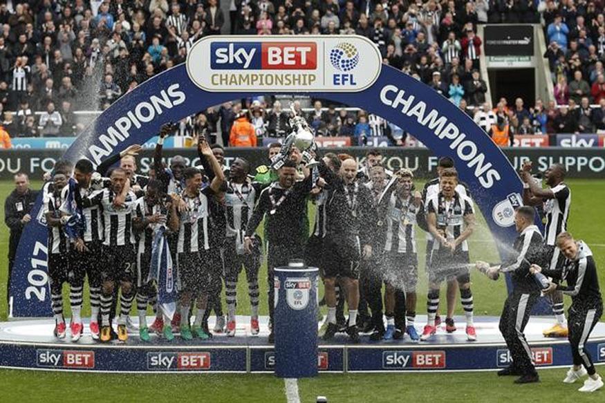 newcastle united win championship to return to premier