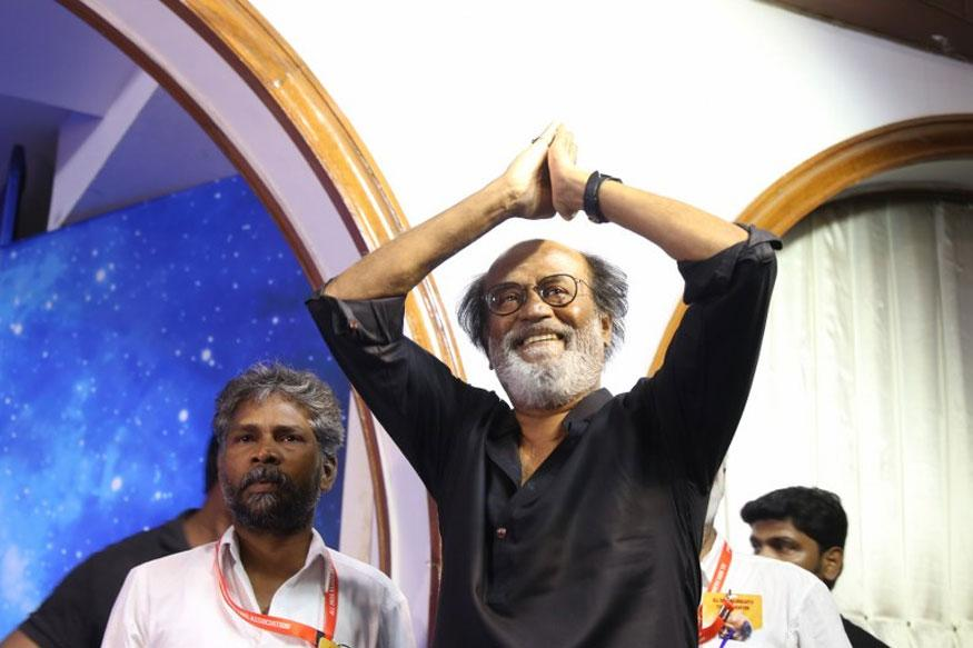 Rajinikanth hints at foraying into politics