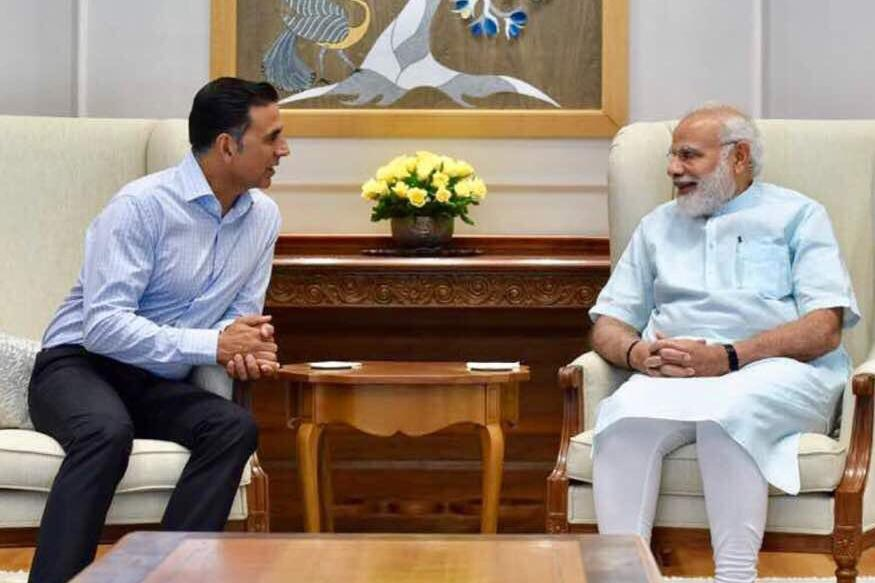 Akshay Kumar Meets PM Modi, Discusses Upcoming Film 'Toilet: Ek Prem Katha'