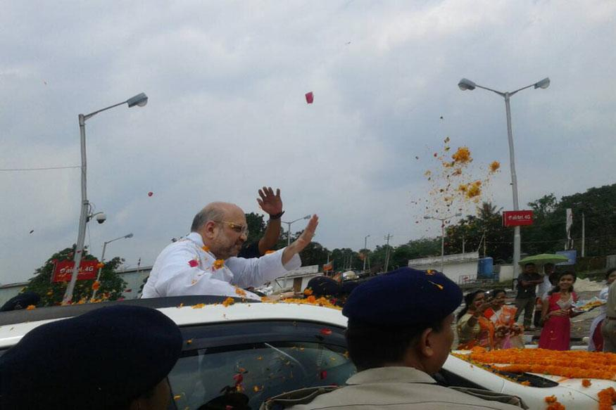 Only Modi model of development can lead Tripura to progress: Amit Shah