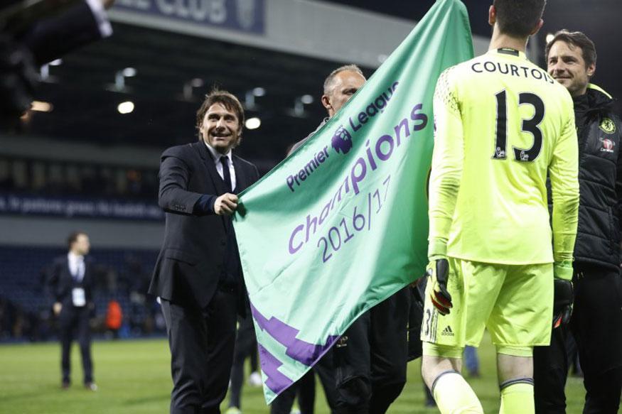 Chelsea's Premier League title triumph in numbers
