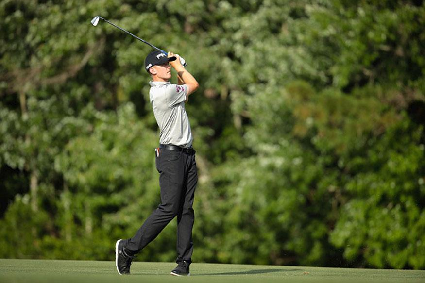 Holmes, Stanley share lead at Players Championship
