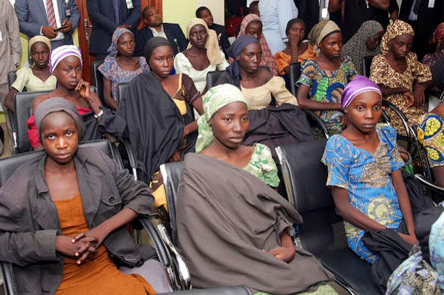 Released Chibok girls arrive Abuja