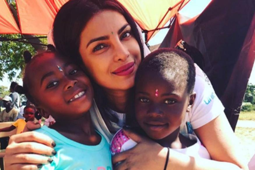 Priyanka Chopra dismayed by child sexual abuse in Zimbabwe