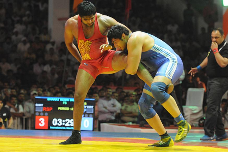 Bajrang Punia claimed a terrific gold medal