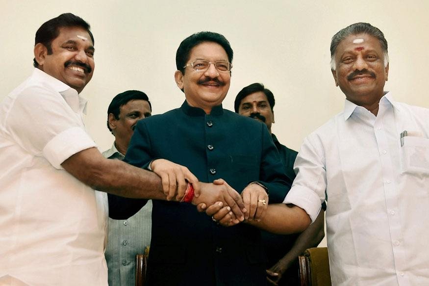 Opposition meets President, seeks TN floor test